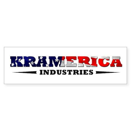 KRAMERICA bumper sticker