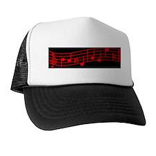 Red Treble Cleft Trucker Hat