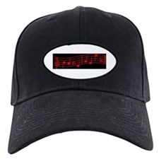Red Treble Cleft Baseball Hat