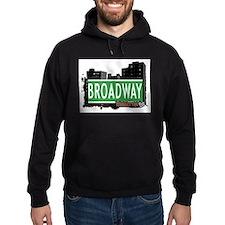 BROADWAY, MANHATTAN, NYC Hoodie