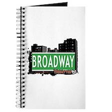 BROADWAY, MANHATTAN, NYC Journal