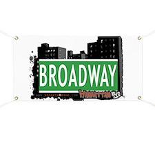 BROADWAY, MANHATTAN, NYC Banner