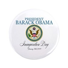 "President Obama Inauguration 3.5"" Button"