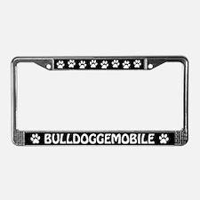 Bulldoggemobile License Plate Frame
