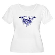 Blue Pinecones T-Shirt