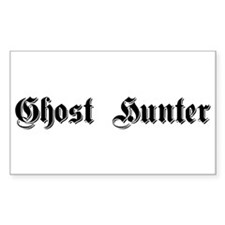 Ghost Hunter Rectangle Decal