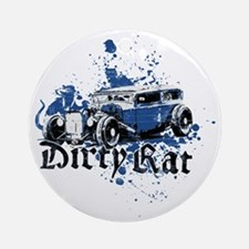 Dirty Rat Ornament (Round)