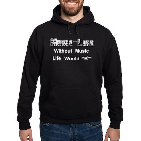 Music=Life Dark Hoodie