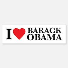 I Love Barack Obama Bumper Bumper Bumper Sticker