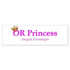 OR Princess ST Bumper Bumper Sticker