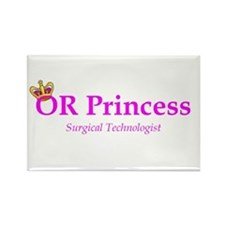 OR Princess ST Rectangle Magnet