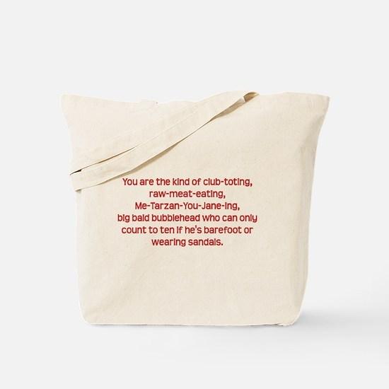 Club-toting Tote Bag