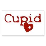 cupid Sticker (Rectangle 50 pk)