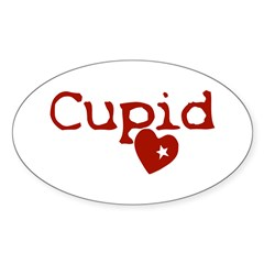 cupid Sticker (Oval)
