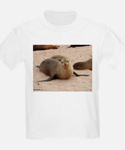Galapagos Islands Sea Lion Kids T-Shirt