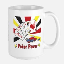 Poker Power Large Mug