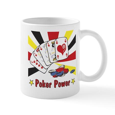 Poker Power Mug