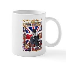 Winston Churchill Small Mug