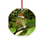 Glass Wing Butterfly Keepsake (Round)