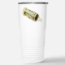 Sex for money Stainless Steel Travel Mug
