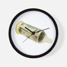 Sex for money Wall Clock