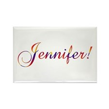 Jennifer! Design #756 Rectangle Magnet