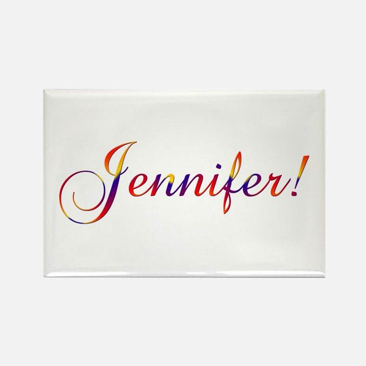 Jennifer! Design #756 Rectangle Magnet