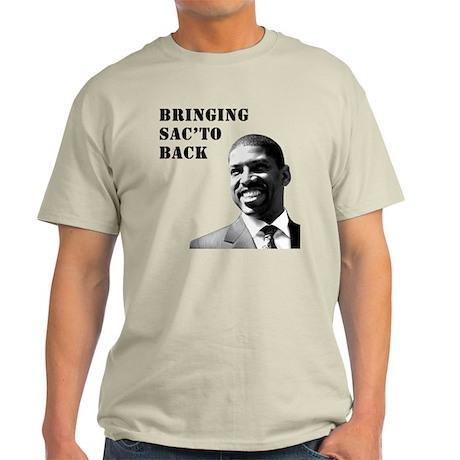 Kevin Johnson: BRINGING SAC'TO BACK - Light T-Shir