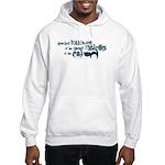 Cat devotion Hooded Sweatshirt