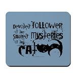 Cat devotion Mousepad