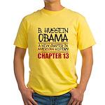 B. Hussein Obama - Chapter 13 Yellow T-Shirt