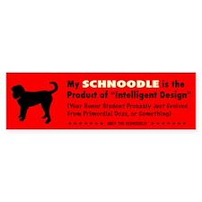 Schnoodle Intelligent Design Bumper Bumper Sticker