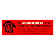 Schnoodle Intelligent Design Bumper Sticker 2