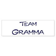 Team Gramma Bumper Car Sticker