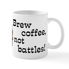 Bison of Peace Coffee Mug