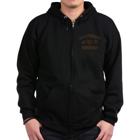 Martinique Forever Zip Hoodie (dark)
