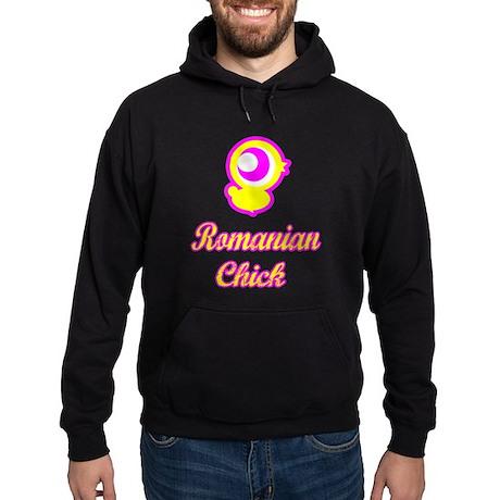 Romanian chick Hoodie (dark)