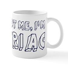 Trust Me I Am Syriac Mug