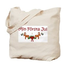 Cute First christmas Tote Bag