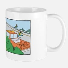 Funny Rhymes with orange Mug
