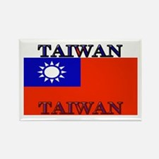 Taiwan Taiwanese Flag Rectangle Magnet