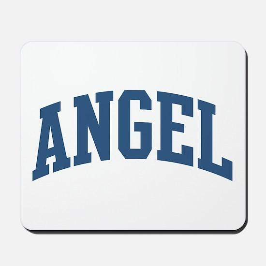 Angel Nickname Collegiate Style Mousepad
