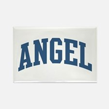 Angel Nickname Collegiate Style Rectangle Magnet
