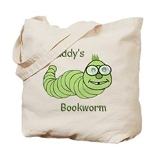 Daddy's Bookworm Tote Bag
