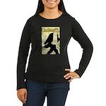 Caudieux Women's Long Sleeve Dark T-Shirt