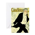 Caudieux Greeting Card