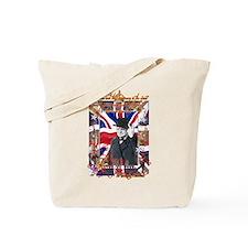 Winston Churchill Quote Tote Bag