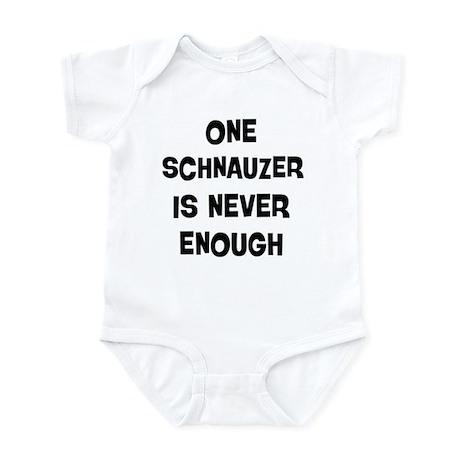 One Schnauzer Infant Bodysuit