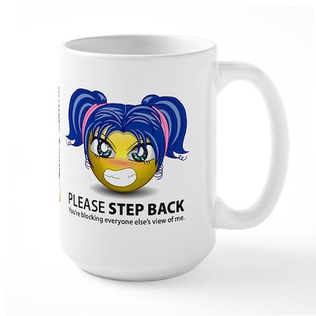 Step Back Female Large Mug