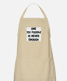 One Toy Poodle BBQ Apron